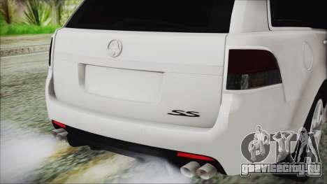 Holden Commodore VE Sportwagon 2012 для GTA San Andreas вид сзади