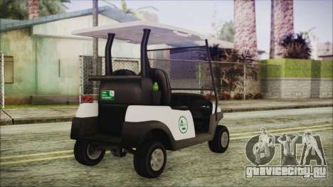 GTA 5 Golf Caddy для GTA San Andreas вид слева