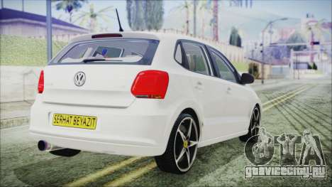 Volkswagen Polo 1.2 TSI для GTA San Andreas вид слева