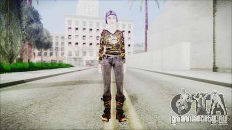 Clementine для GTA San Andreas второй скриншот