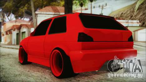 Volkswagen Golf 2 Ghetto Cult для GTA San Andreas вид слева
