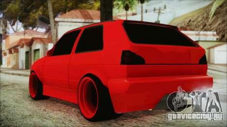 Volkswagen Golf 2 Ghetto Cult для GTA San Andreas вид слева