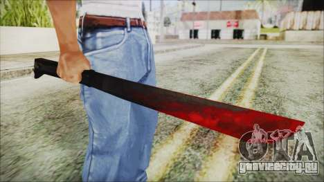 Jason Voorhes Weapon для GTA San Andreas