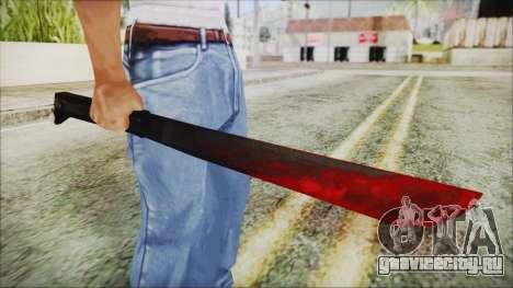 Jason Voorhes Weapon для GTA San Andreas