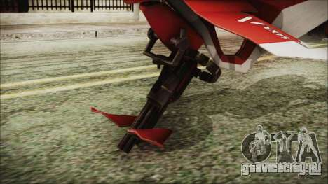 Syndicate Flying Motorcycle для GTA San Andreas вид сзади слева