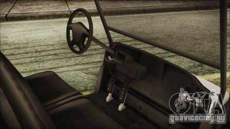 GTA 5 Golf Caddy для GTA San Andreas вид сзади слева