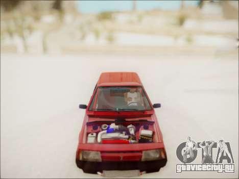 Ваз 2108 Турбо для GTA San Andreas вид справа