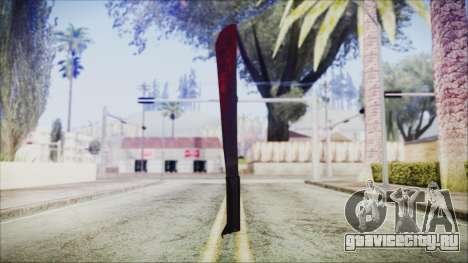 Jason Voorhes Weapon для GTA San Andreas второй скриншот