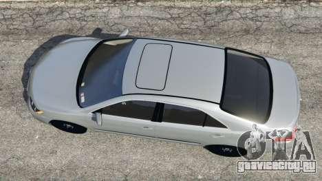 Toyota Camry 2011 для GTA 5 вид сзади