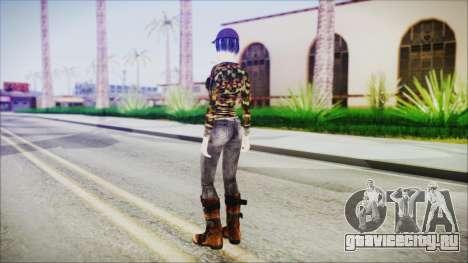 Clementine для GTA San Andreas третий скриншот