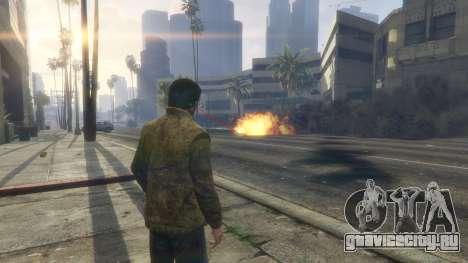 Тепловое зрение Супермена 1.1 для GTA 5 восьмой скриншот