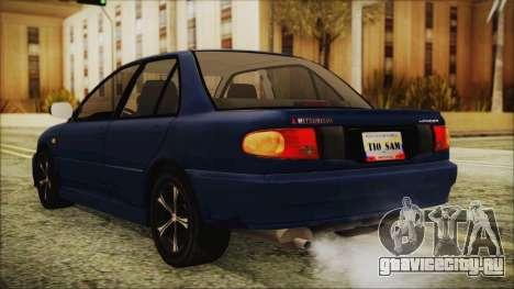 Mitsubishi Lancer 1998 для GTA San Andreas вид слева