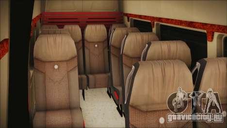 Mercedes-Benz Sprinter 26 M 0009 для GTA San Andreas вид сзади