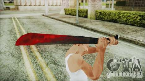 Jason Voorhes Weapon для GTA San Andreas третий скриншот