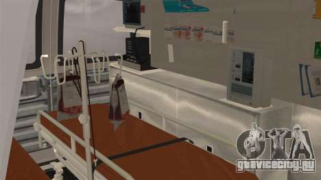 Indonesian PMI Ambulance для GTA San Andreas вид сзади