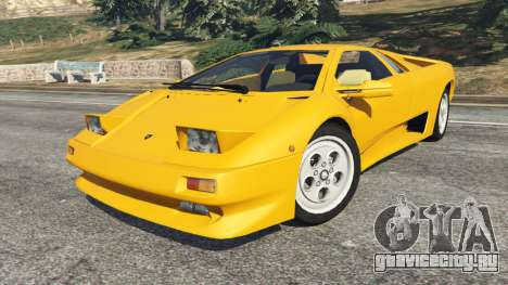 Lamborghini Diablo Viscous Traction 1994 для GTA 5 вид справа