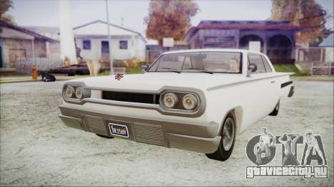 GTA 5 Declasse Clean Voodoo Hydra Version для GTA San Andreas