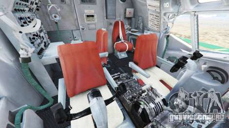 Boeing E-3 Sentry для GTA 5 шестой скриншот