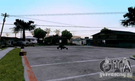 uM ENB для слабых ПК для GTA San Andreas третий скриншот