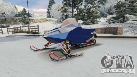 Снегоход для GTA 5 вид справа