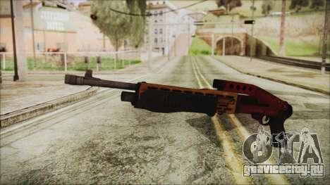 Xmas SPAS-12 для GTA San Andreas