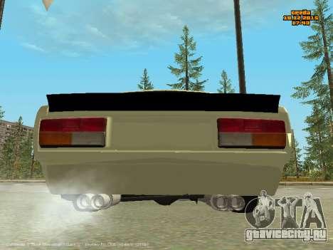 Ваз 2107 Корч для GTA San Andreas вид справа