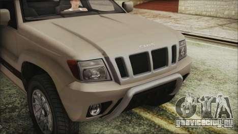 GTA 5 Canis Seminole IVF для GTA San Andreas вид справа