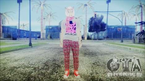 GTA Online Skin 54 для GTA San Andreas второй скриншот