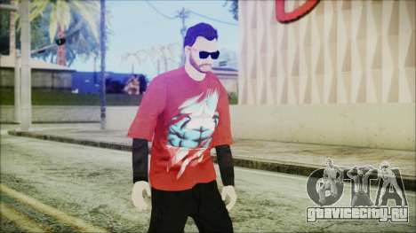 GTA Online Skin 27 для GTA San Andreas