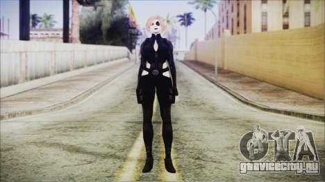 Blonde Domino from Deadpool для GTA San Andreas второй скриншот