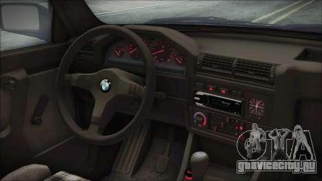 BMW 320i E21 1985 SA Plate для GTA San Andreas вид справа