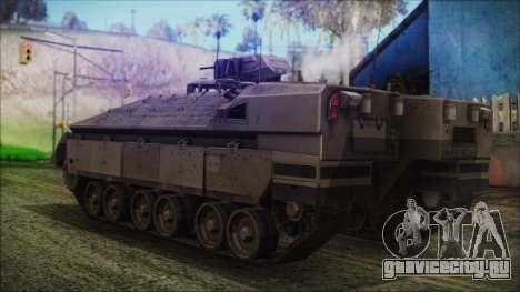 IFV-6C Panther Tracked IFV для GTA San Andreas вид слева