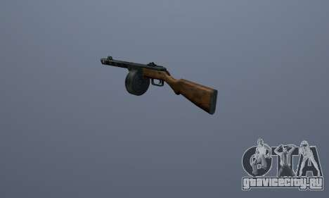 ППШ для GTA San Andreas третий скриншот