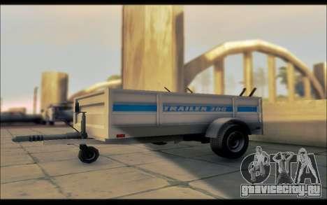 Мод из GTA V коммунальные трейлер для GTA San Andreas