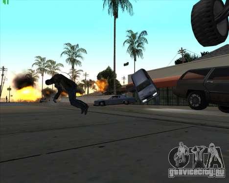 Безумие в штате San Andreas v1.0 для GTA San Andreas четвёртый скриншот