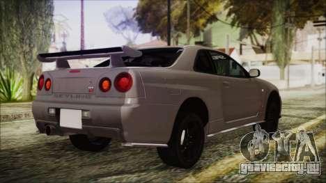 Nissan Skyline Nismo Body Kit для GTA San Andreas вид слева