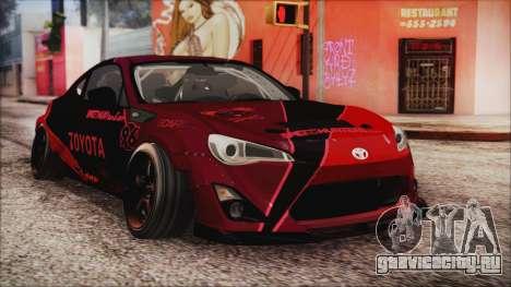 Toyota GT86 Speedhunters для GTA San Andreas