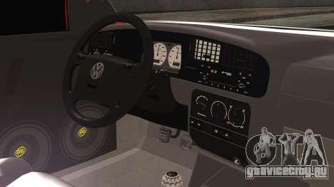 Volkswagen Golf 2 Ghetto Cult для GTA San Andreas вид справа