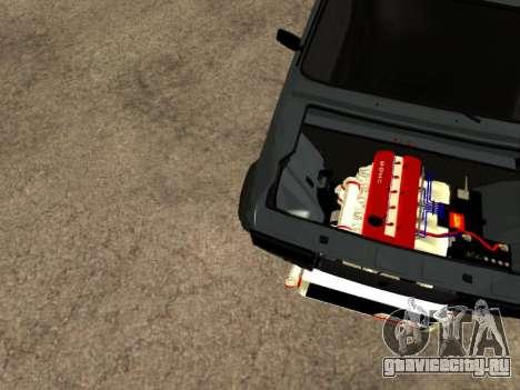 ВАЗ 2107 для GTA San Andreas вид сбоку