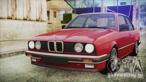 BMW 320i E21 1985 SA Plate для GTA San Andreas