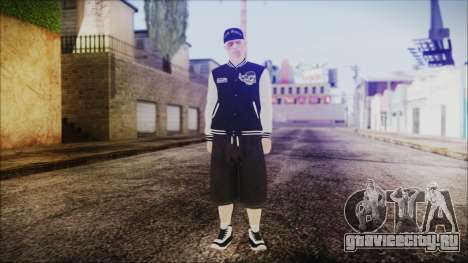 GTA Online Skin 50 для GTA San Andreas второй скриншот