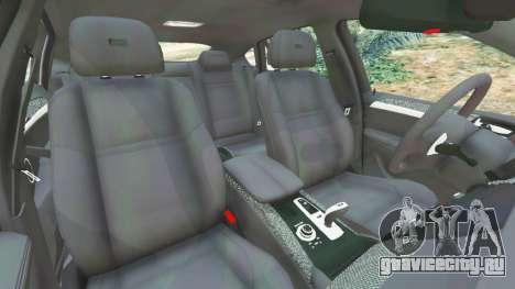 BMW X6 M (E71) v1.5 для GTA 5 вид справа