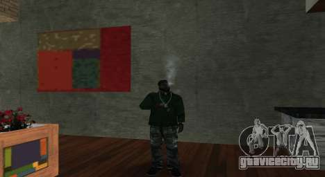 Итальянский бар Gangstaro в Лос-Сантосе для GTA San Andreas второй скриншот