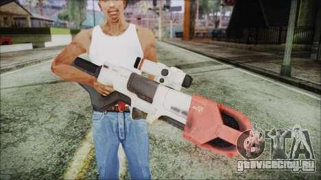 Fallout 4 Focused Institute Rifle для GTA San Andreas третий скриншот