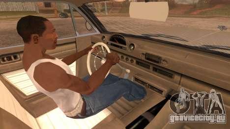 GTA 5 Declasse Clean Voodoo Hydra Version для GTA San Andreas вид справа