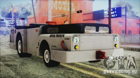 BF3 Push Car для GTA San Andreas вид справа