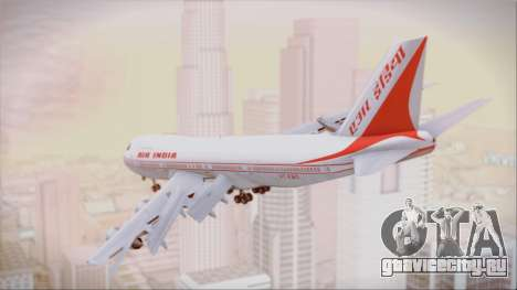 Boeing 747-237Bs Air India Vikramaditya для GTA San Andreas вид слева