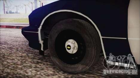 Chevrolet Caprice Station Wagon 1993-1996 LSPD для GTA San Andreas вид сзади слева