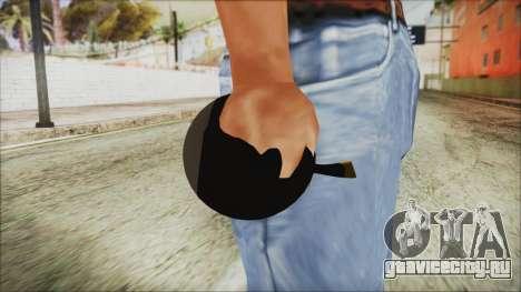 Angry Bird Grenade для GTA San Andreas третий скриншот