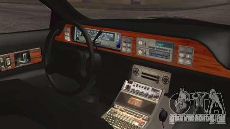 Chevrolet Caprice Station Wagon 1993-1996 LSPD для GTA San Andreas вид справа